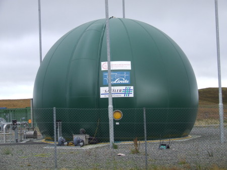 Anearobic Dogestion Plant in Stornoway.